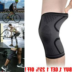 Knee Sleeve Compression Brace Pad Support Sport Arthritis Jo