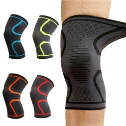 1 PAIR Knee Brace Support Compression Sleeve For Joint Pain