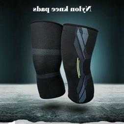Knee Sleeve Compression Brace Support For Sport Joint Arthri