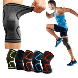 1 PAIR Patella Knee Support High Compression Elastic Sleeve/