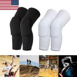 1Pair Knee Compression Sleeves Basketball volleyball Brace S