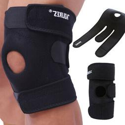 Women Men Adjustable Knee Brace Support Knee Open Patella Co