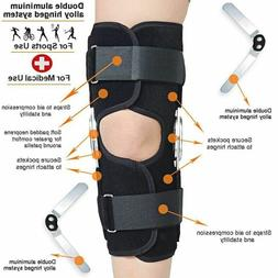 1Pc Hinged <font><b>Knee</b></font> Arthritis Support Guard