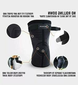Mava Sports 1pc Knee Compression Support Brace~For Joints &