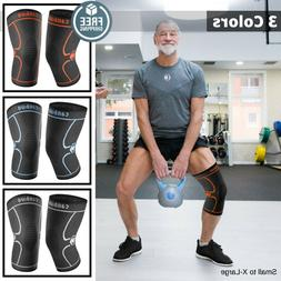 Cambivo 2 Pack Knee Brace Compression Sleeve for Arthritis,