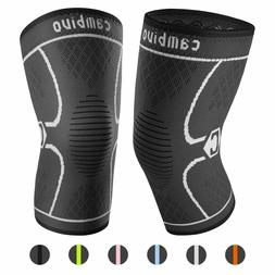 CAMBIVO 2 Pack Knee Brace,Support for Sports,Joint Pain Reli