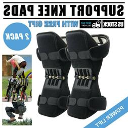 2PCS Knee Pad Brace Lifts Knee Protection Boost Powerful Reb
