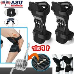 2x Joint Support Brace Knee Pads Booster Lift Squat Sports P