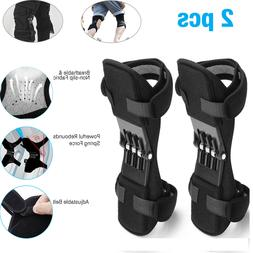 2X Joint Support Brace Knee Pads Booster Lift Squat Sport Po