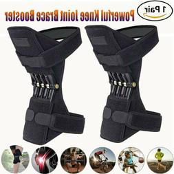 2X Knee Brace Powerful Booster Leg Joint Lift Support Pad Re