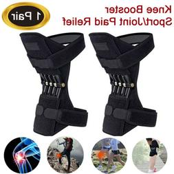 2X Knee Joint Support Brace Lift Booster Leg Pad Sport Sprin