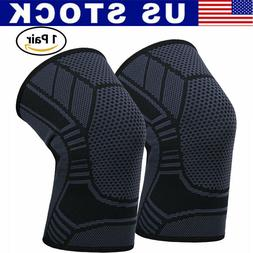 Knee Patella Support Arthritis Wraps Compression Sleeve Join