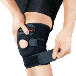 3 Strap Knee Brace Stabilizer Wrap Support Guard Patella Art