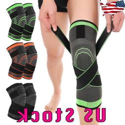 3D Adjustable Knee Brace Patella Support Jumpers Protector T