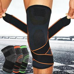 3D Knee Brace Pad Support Protect Compression Sport Joint Pa