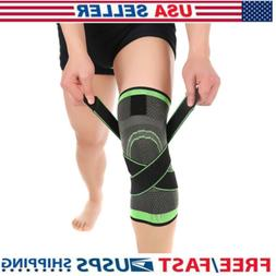 3D Knee Brace Support Compression Knee Support Sleeve Adjust