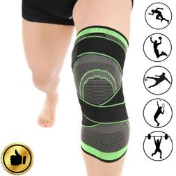3D Weaving Knee Brace Pad Support Protect Compression Breath