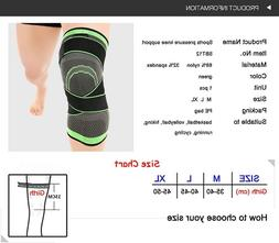 3D Weaving Knee Brace Pad Support Protect Compression for Ru