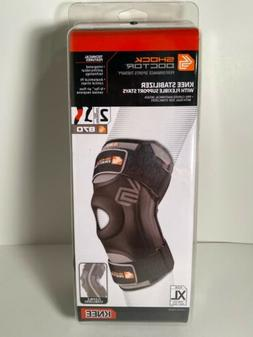 870 knee stabilizer with flexible support stays