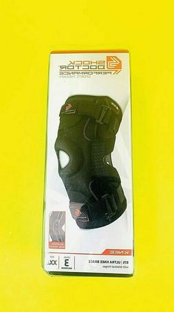 Shock Doctor 875 Knee Brace Knee Support for Stability Size