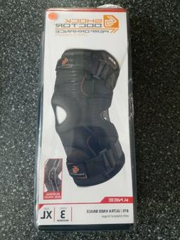 Shock Doctor 875 Ultra Knee Brace with Bilateral Hinges Perf