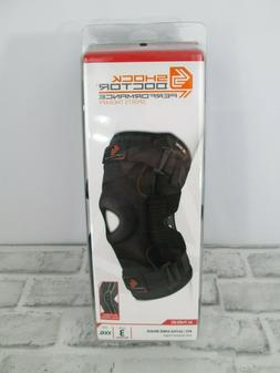 Shock Doctor 875 Ultra Knee Brace with Bilateral Hinges Leve