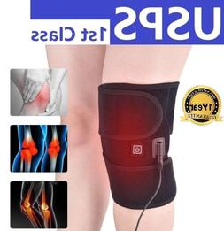 Electric Hot Knee Pads Self-heating Warm Therapy Belts Knee