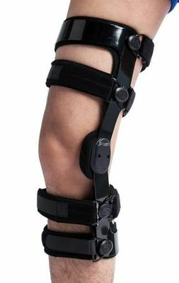 ACL KNEE BRACE / LIGAMENT HINGED KNEE BRACE FOR INJURIES OR