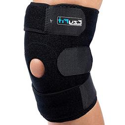 EzyFit Adjustable Knee Brace Non-slip Strips Strong Velcro C