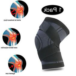 Adjustable Knee Brace Patella Elastic Fastener Support Sport