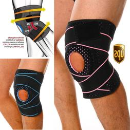 Adjustable Knee Support Brace Straps Patella Stabilizer Men