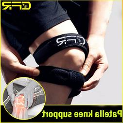 Adjustable Knee Wrap Protector Gym Patella Tendon Support Br