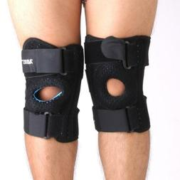 Adjustable Meniscus Recovery Protect Hinged Knee Brace Suppo