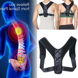 Adjustable Posture Corrector Brace Back Shoulder Support Bel