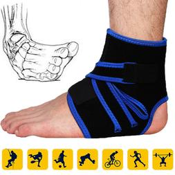 Adjustable Strap Ankle Brace Foot Support Arch Pad Sports Re