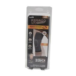 Copper Fit Advanced Support Knee Sleeve, Black, Medium