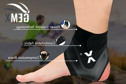 Ankle Support Foot Brace Medical Compression Sleeves Elastic
