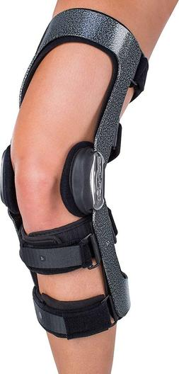 DonJoy Armor Knee Support Brace with FourcePoint Hinge: Left