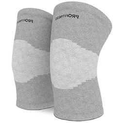 ProFitness Bamboo Knee Sleeve for Joint Pain Improved Circul