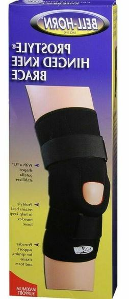 bell horn prostyle hinged knee brace x