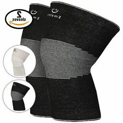 brace compression knee support sleeves