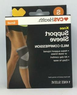 Ace Brand Compression Knee Support S/M Gray 207320