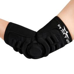 Breathable Elbow Brace Pads Guard Compression Silica Gel Pad