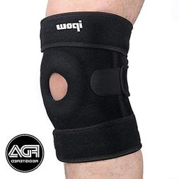 IPOW Quadruple Spring Open Patella Support Stabilizer, FDA R