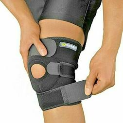 breathable neoprene knee support sleeve