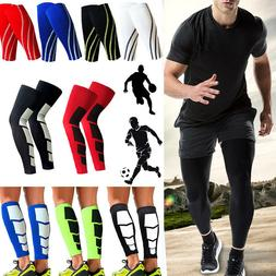 calf supports knee compression running sleeve mens