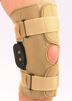 Centron Neoprene Hinged Knee Stabilizer with Patella Opening