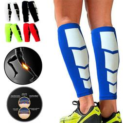 Compression Calf Sleeve Leg Foot Support Brace Shin Socks Re