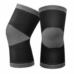 2 PCS Compression Knee Brace Sleeve Support for Running Jogg