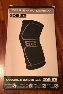 SB SOX Compression Knee Sleeve Brace for Men & Women Knee Pa